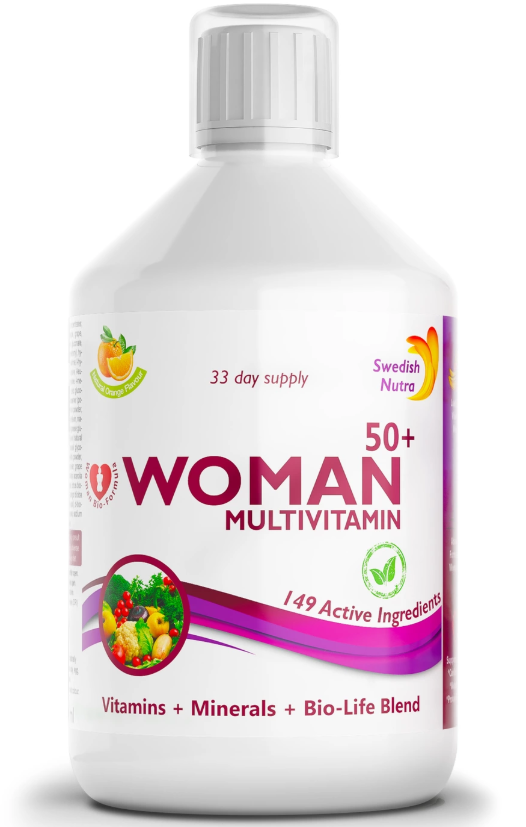SWEDISH NUTRA-WOMEN 50