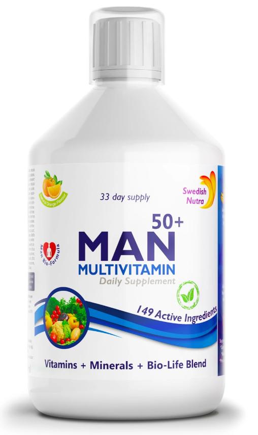 SWEDISH NUTRA - MAN 50+