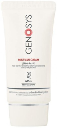 Genosys Multi Sun Cream (MSC)