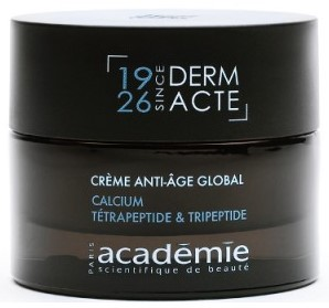 Creme anti-age global calcium tetrapeptide tripeptide