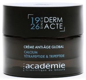 Creme anti-age global calcium tetrapeptide tripeptide